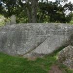 garden memorial stone living
