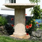 memorial birdbath