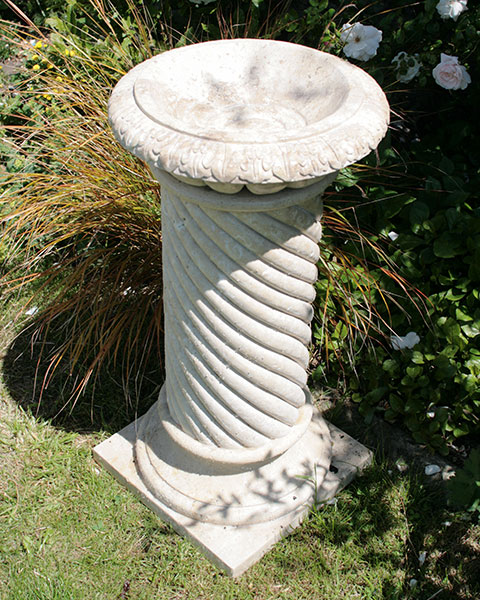 Memorial Birdbath for ashes